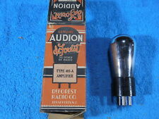 DeForest 401A NOS Audion Globe shape Box beautiful tube.