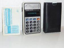 Casio Biolator H-801 Elektronischer Taschenrechner / Rechner