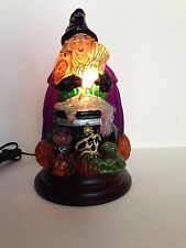 Merck Family's Old World Christmas 2015 Witch with Cauldron Light #529775