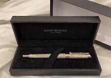 Harry Winston Silver Diamond Roller Pen