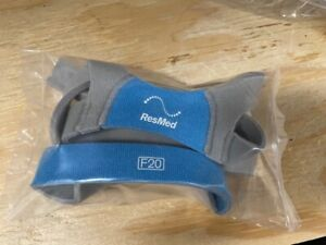 Resmed AirFit F20 standard size headgear w/ clips NEW