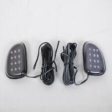 Paire de clignotant à LED adhésif souple mini cligno LED Neuf moto scooter 50