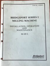 Bridgeport Operation Manual