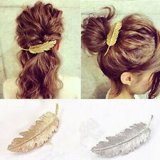 Women's Vintage Style Hair Clip Pin Claw Leaves Barrette Party Accessory Gift