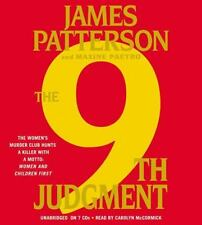 The 9th Judgment by James Patterson and Maxine Paetro (2011, CD Abridged)New