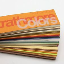 VTG Strathmore Colors Fourth Edition Paper Samples Booklet Swatches Duplex