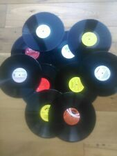 Job lot of 10 x 12 inch LP vinyl records for craft, upcycling projects etc
