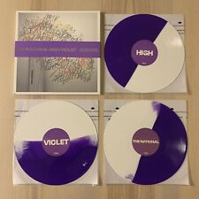 THE NATIONAL High Violet (10th Anniversary) Vinyl SPLIT WHITE PURPLE Cherry Tree