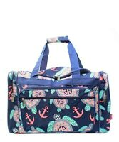 "Canvas 20"" carry on airplane/duffle/gym/overnight bag NWT FREE SHIP BEACH TURTLE"