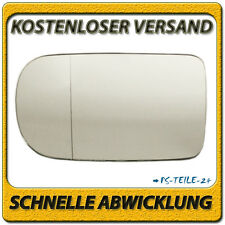 Außenspiegel Spiegelglas für BMW 7er E38 1994-2001 links Fahrerseite asphärisch
