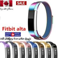 NEW Stainless Steel Watch Band Bracelets Wrist Strap For Fitbit Alta HR Alta ACE