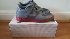 NIKE LUNAR FORCE 1 FUSE NRC QUICK STRIKE UK 9.5 WOLF GREY 573980-002