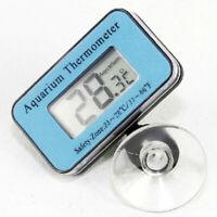 Digitale Unterwasser Aquarium LCD Waterproof Thermometer Temperatur B4H0
