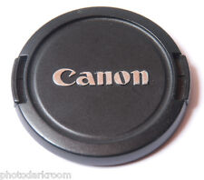Canon E 58mm Lens Cap - Plastic Snap-On - Taiwan E-58mm - USED C060