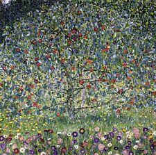 "Apple Tree by Gustav Klimt, 12""x12"", Giclee Canvas Print"