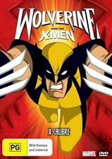 Wolverine And The X-Men - X-Calibre : Vol 1 (DVD, 2009), NEW SEALED REGION 4
