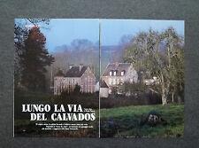 AL03 - Clipping-Ritaglio -1987- NORMANDIA , CALVADOS , LA CELEBRE BEVANDA