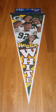 1990's Reggie White Green Bay Packers caricature pennant HOFer MINT