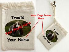 COTONE trattare SACCO-personalizzato con i vostri cani fotografia e nome