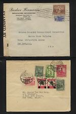 Colombia  2  nice  covers  to  US              EXC0918