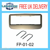 Fiat Multipla Grey Fascia Facia Adaptor Panel Surround Free Car CD Stereo Radio
