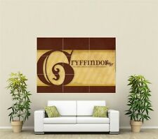 Harry Potter Gryffindor Giant XL Section Wall Art Poster TVF140