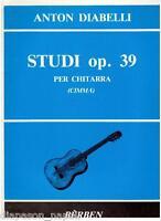 Diabelli: Estudios Op.39 para Guitarra ( Cimma ) - Berben