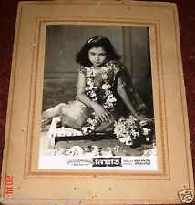 NIYOTI (1952) NARESH MITRA BENGALI FILM 12  ORIGINAL PHOTO LOBBY CARDS BOLLYWOOD