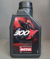 1 x Motul 300V 4T 10W40 L'HUILE DE MOTEUR motorradöl 1 Litre ROAD RACING +#