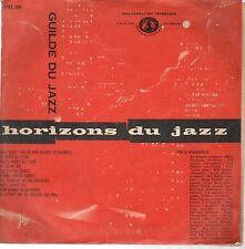 "Horizons Du Jazz -  Guilde Du Jazz – J-SPEC 100-Vinyl 10""-France"