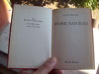 1959 JULES RENARD: 'STORIE NATURALI' EDIZIONE RIZZOLI B.U.R.