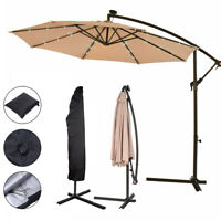 Hanging Umbrella Cover For Hanging Solar Sun Shade Off Cantilever Garden Parasol