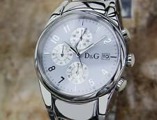 Dolce & Gabbana Men's Swiss Made Men's 41mm Quartz Chronograph Watch T770