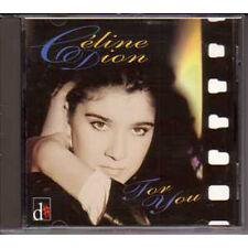 CD Céline DIONFor you Compilation en francais  Rare