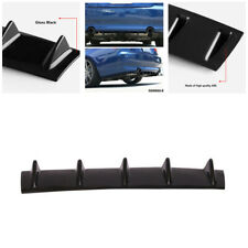 Car Styling Rear Bumper Lip Air Diffuser Spoiler Kit Shark Fin Modification&cut