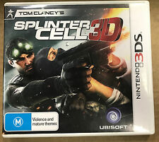 Tom Clancy's Splinter Cell 3D (Nintendo 3DS, 2011)
