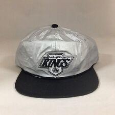 Los Angeles LA Kings Snapback Hat Mitchell Ness Tyvek 2 Tone Adjustable Cap NHL
