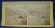 View from the Boston Concord & Montreal Railroad Kilburn Stereoview