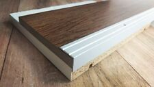 100cm - 25x20mm Treppenprofil Trittschutz Silber eloxiert