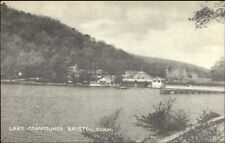 Bristol CT Lake Compounce From Water Postcard