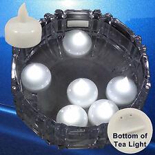 36 X Waterproof Led Floating White Tea Light Flameless Candle Wedding Party Xmas