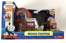 THOMAS & FRIENDS WOODEN RAILWAY FISHER-PRICE TRAIN WOOD CHIPPER Y4094 GIFT XMAS