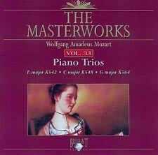 The Masterworks Vol. 33-Wolfgang Amadeus Mozart Piano Trios K452,K548,K564 CD