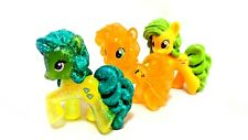 "MLP FiM Lot Peachy Pie Diamond Mint Apple Pony 2"" Figure Blind Bag Loose EUC"