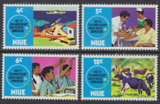 NIUE - 1972 25th Anniversary of South Pacific Commission (4v) - UM / MNH