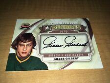 Gilles Gilbert Boston Bruins 11-12 ITG BTP Autographed Card