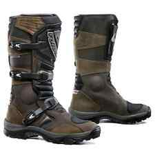 motorcycle boots | Forma Adventure UNBOXED brown waterproof adv touring riding