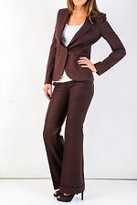 Suit Jacket Pants Vanessa Bruno France Suit Women Cashmere Blend S Burgundy