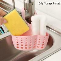 New Hanging Home Kitchen Sponge Drain Bag Basket Bath Sink Tools Holder W3E1