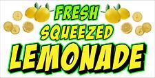 Fresh Squeezed Lemonade Vinyl Horizontal Banners Choose A Size Lemon Ade